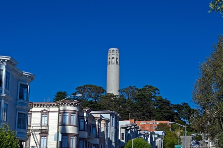 Coit Tower, San Francisco, August 2012 Stock Photo - 17119814