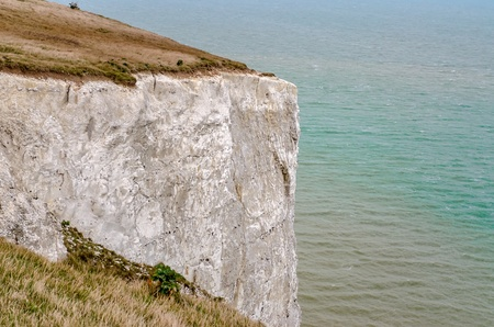 The White Cliffs of Dover facing Continental Europe on the English Channel Editorial