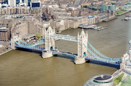 Tower Bridge, Historical Landmark in London, UK