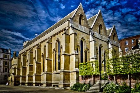 mormon temple: Temple Church, London, UK Stock Photo