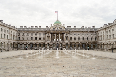 Somerset House, Victorian Architecture, Strand, London, UK