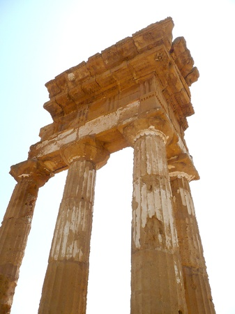 agrigento: Temple of Castor and Pollux, Agrigento, Italy