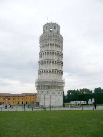 The Leaning Tower of Pisa, Italy Stock Photo