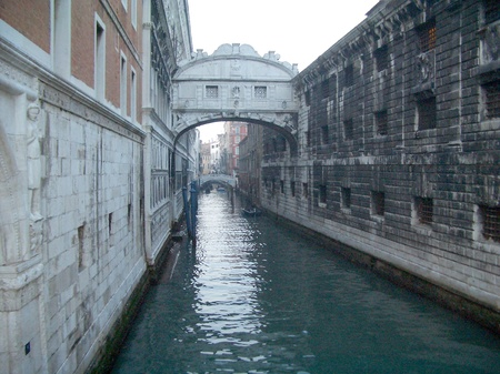 View over the Bridge of Sighs, Venice, Italy Stock Photo - 19612690
