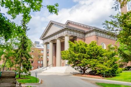 Memorial Church inside Harvard University Campus, Cambridge