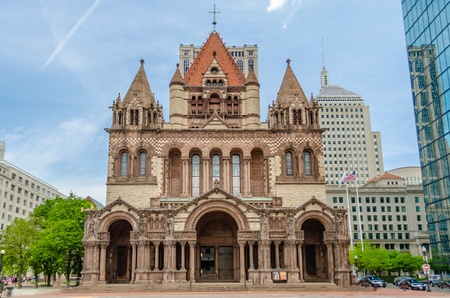 Trinity Church, Copley Square, Boston