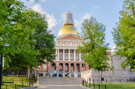 state government: Massachusetts State House, Boston, USA
