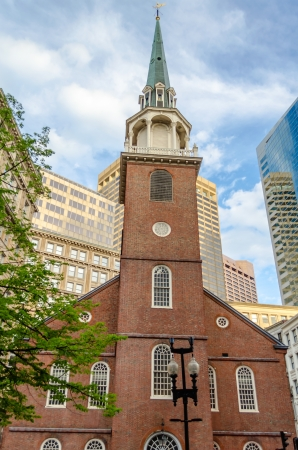 Old South Meeting House, Boston 写真素材