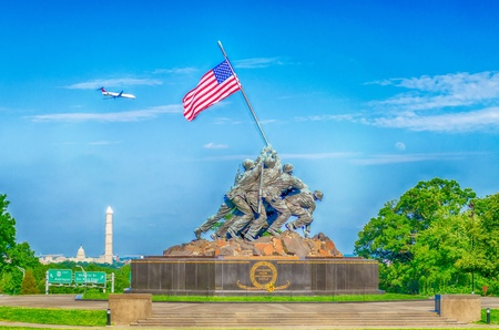 The Marine Corps War Memorial    Editorial
