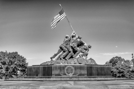 The Marine Corps War Memorial   Iwo Jima Memorial   Editorial