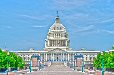 United States Capitol building, Washington DC, USA photo