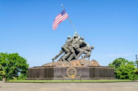 memorial: The Marine Corps War Memorial  Iwo Jima Memorial