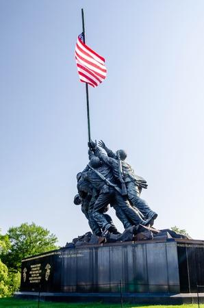 warzone: The Marine Corps War Memorial  Iwo Jima Memorial