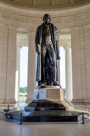 Thomas Jefferson Memorial,  in Washington DC USA 報道画像