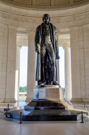 Thomas Jefferson Memorial,  in Washington DC USA Editorial