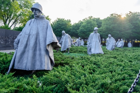 Korean War Memorial, Washington DC, USA