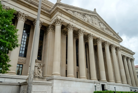 National Archives in Washington DC, USA photo