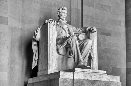 Lincoln Memorial, Washington DC, USA photo