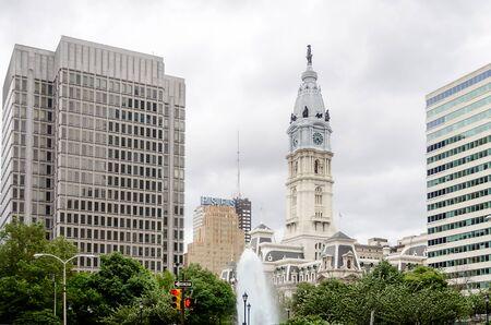 william penn: Philadelphia City Hall, USA
