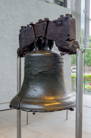 Liberty Bell in Philadelphia, Pennsylvania, USA Stock Photo