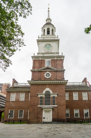 Independence Hall à Philadelphie, Pennsylvanie, USA Éditoriale