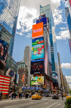 Times Square, New York Stock Photo - 21155460