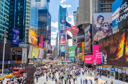 brand new: Times Square, New York