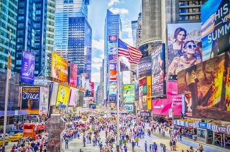 new economy: Times Square, New York