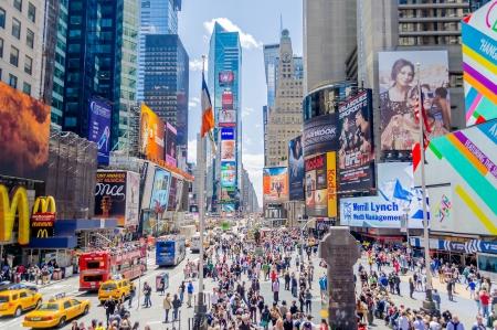 タイムズ ・ スクエア、ニューヨーク 報道画像