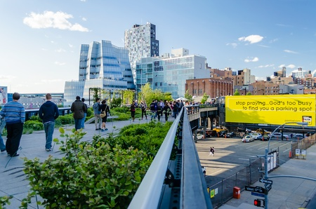 The High Line Park, New York