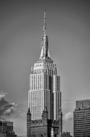 king kong: The Empire State Building, New York City Editorial