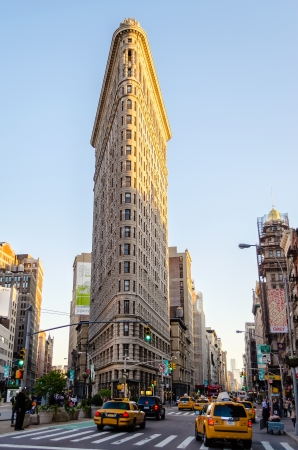 Het Flatiron Building, New York