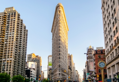flatiron: The Flatiron Building, New York
