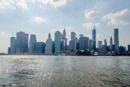Manhattan Skyline, New York, USA