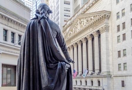 Wall Street, New York Stockfoto - 21581079