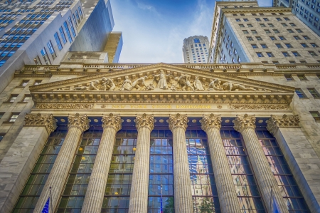 money exchange: Wall Street, New York City