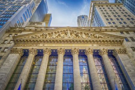 Wall Street, New York Stockfoto