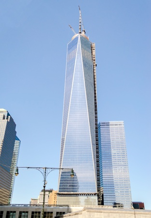 tallest: One World Trade Center aka the Freedom Tower Stock Photo