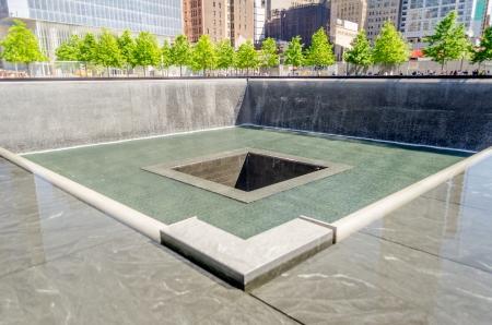 National September 11 Memorial, New York Stock Photo