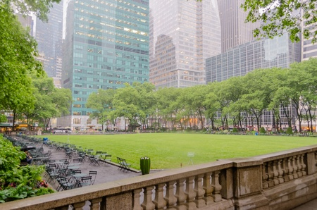 Bryant Park, Manhattan, New York City photo