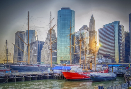 South Street Seaport, New York photo