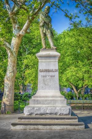 garibaldi: Monument to Garibaldi in Washington Square, New York