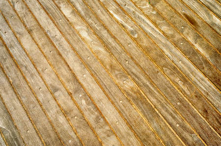 Wooden Boardwalk Background, Weathered and rough textured Stock Photo - 21710562