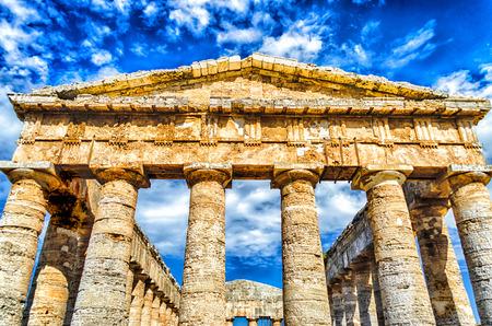 Greek Temple of Segesta, Sicily, Italy summer 2014