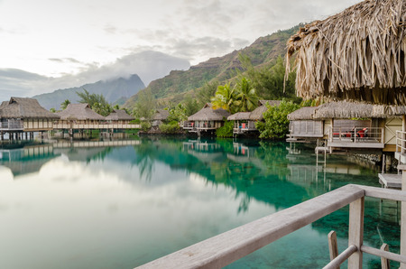 polynesia: Overwater Bungalows in Moorea, French Polynesia