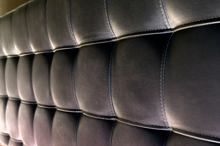 luxuriously: Tufted Leather Headboard Texture, used for Background