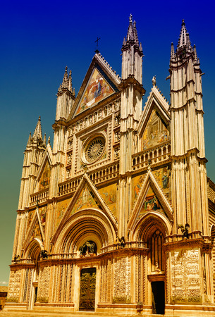 orvieto: The Gothic Cathedral of Orvieto, Umbria, Italy