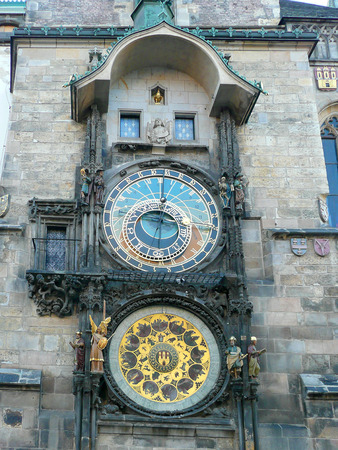 astronomical: Prague Astronomical Clock, Czech Republic