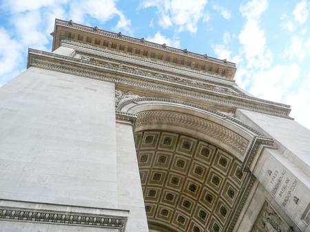 triumphe: The Arc de Triomphe de lÉtoile, Paris, France