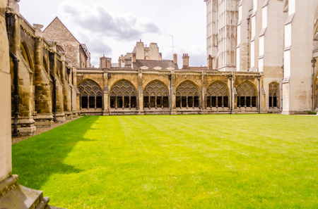 westminster: Cloister of the Westminster Abbey, London, UK